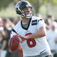 Matt Schaub Texans throwing camp