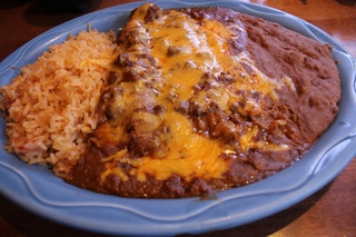 Molina's, Enchiladas, June 2012