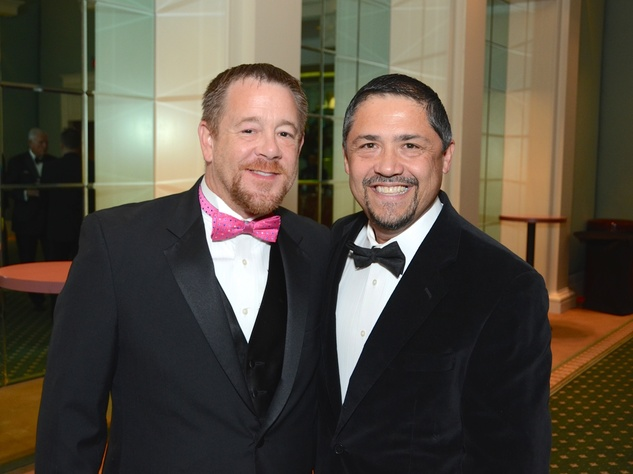 10 Shelby Kibodeaux, left, and Bruce Padilla at the UNICEF Gala October 2014