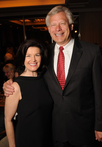 21 Kathy and Ted Zwieg at the Petroleum Club of Houston Grand Opening Celebration February 2015