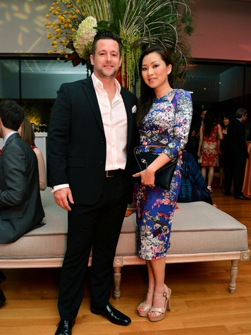 7 0628  Michael and Mechelle Paramore at the Asia Society Spotlight Asia party April 2014
