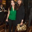 17 Laura Mudd, left, and Sabiha at the Hublot dinner party at Tony's October 2013