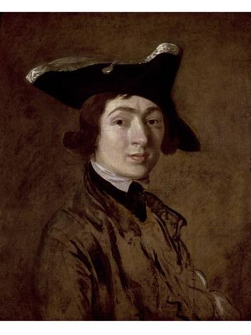 Houghton Hall MFAH Gainsborough - Self Portrait