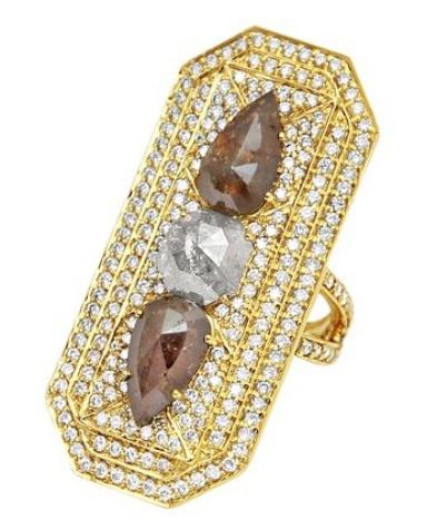 Sutra diamond cocktail ring