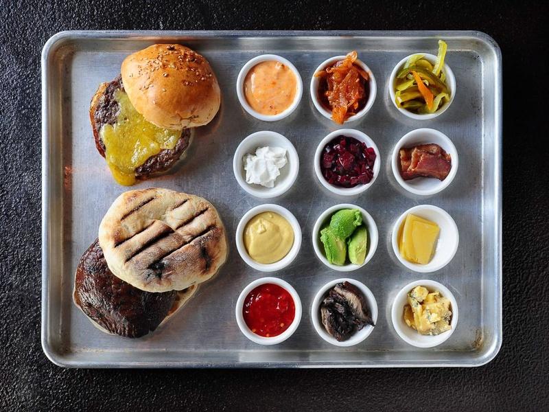 hamburger burger Sparrow