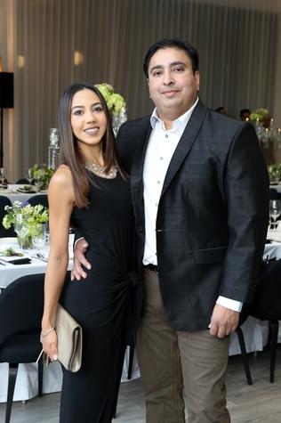 Saks Opening Dinner for HGO 4/16,  Luisa Alzate, Lucky Chopra