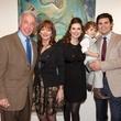 Joanne Wilson art show_Terry Hunt_Mary Jo Hunt_Taryn Proler_baby Baird Proler_Preston Proler