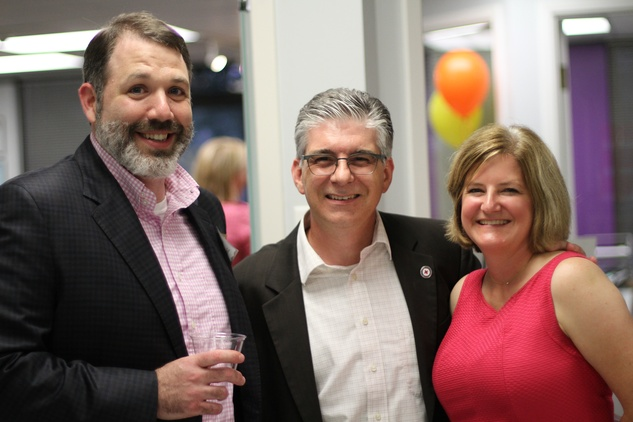 Houston, Kids Meals New Faciity Celebration, May 2015, Jared Levinthal, Steve and Cristina Vetrano