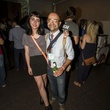 Catherine Sullivan and Sean Askandari at the MFAH Mixed Media Party June 2014