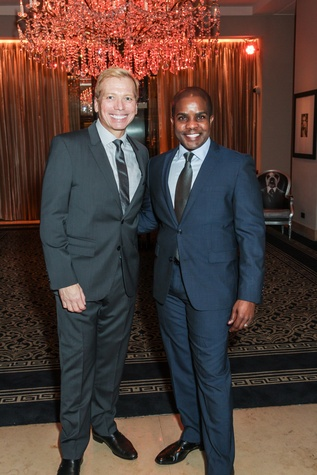 News, Shelby, Houston Arts Alliance, Lee Daniels event, May 2015,Jonathon Glus and Alton LaDay