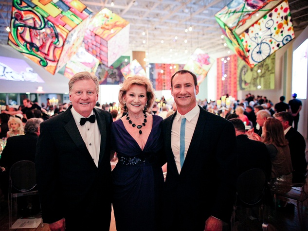 Jimmy and Carolyn Robertson, from left, with Dean Putterman at the CAMH Gala April 2014