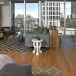 skyhouse dallas, victory park, living room