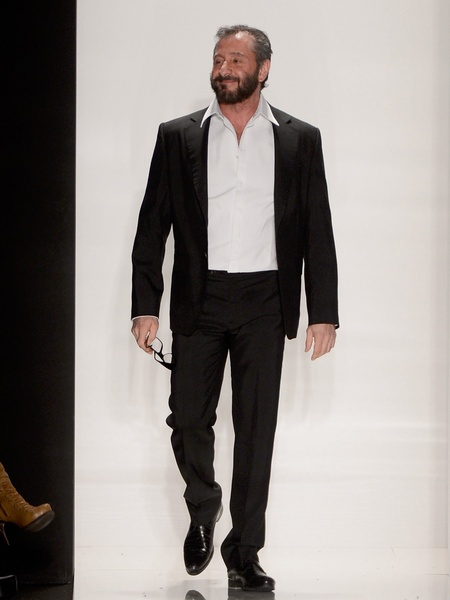 Fashion Week fall 2013, designer Ralph Rucci