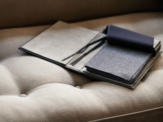 Burberry Custom Tailoring, fabric swatches, December 201