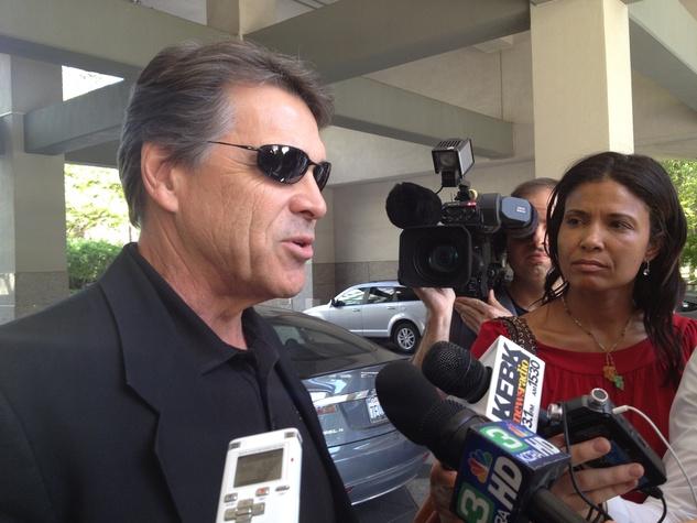 Rick Perry in Sacramento
