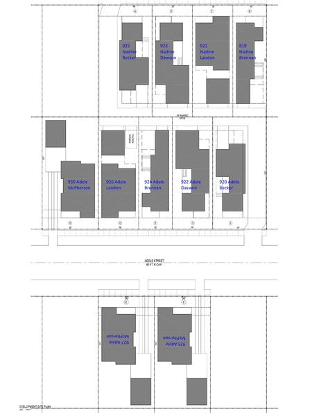 Porch Street Adele Site Plan July 2014