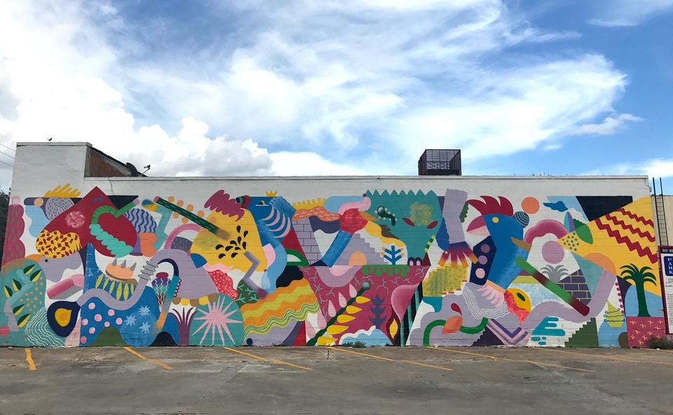 Street art 15 houston murals that make the perfect for Dallas mural artists