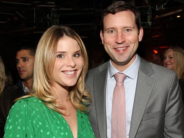 Jenna Bush Hager and husband Henry Chase Hager October 2012