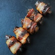 Sparrow Bar + Cookshop dates stuffed with chorrizo wrapped in bacon November 2013 Thanksgiving
