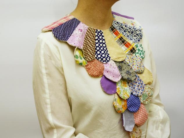 Goldesberry Gallery, Body Parts exhibit, jewelry, November 2012, dora necklace artist Kristi Rae Wilson