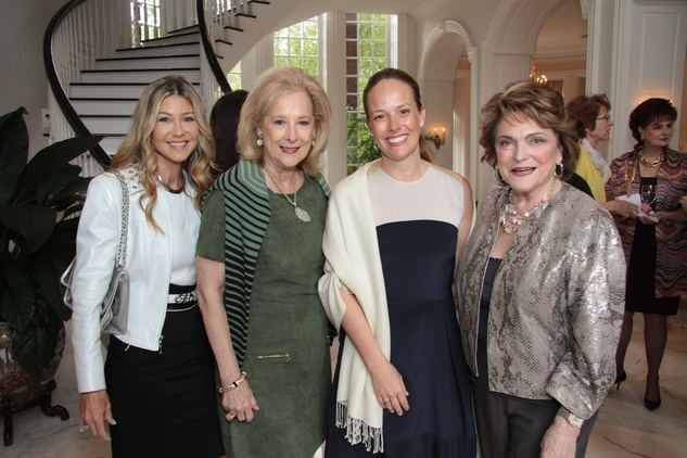 Patti Murphy, Mary Ann McKeithan, Holly Madden, Beth Wolff Crohn's & Colitis luncheon, March 2014