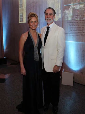 Randa and Charlie Williams at the Museum of Natural Science Gala March 2014