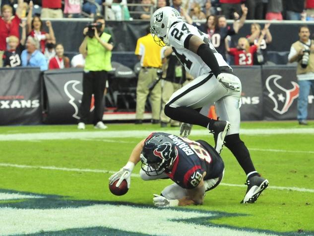 Raiders touchdown Texans