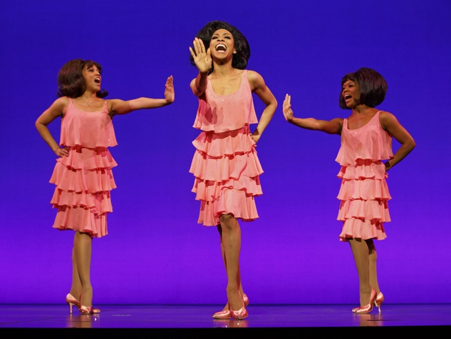 The Supremes in Motown the Musical
