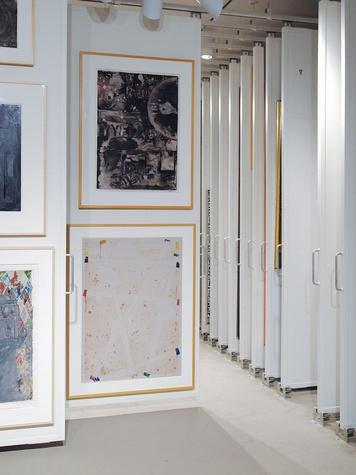 News_Menil_painting_storage, treasure room