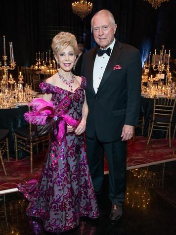 14 Margaret Alkek Williams and Jim Daniel at the Houston Ballet Ball February 2015