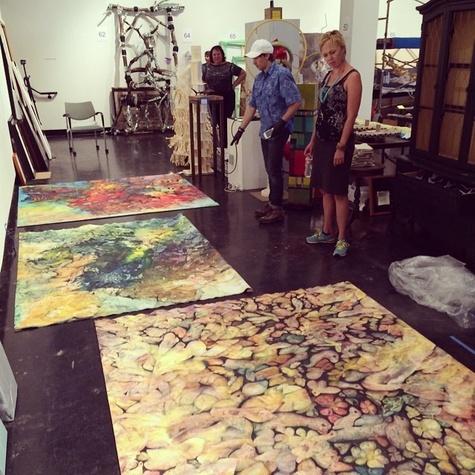 Lawndale Art Center big show 2014 jurying