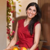 Shubhra Ramineni vegetarian cookbook release May 2013 cook with fruit