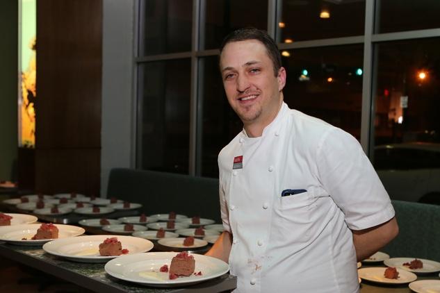 15 Andrew Lewis at TUTS' Vine & Dine November 2014