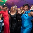 1 Claire Cormier Thielke, from left, Yvonne Cormier, Regina Rogers and Pat Avery at Gala on the Green February 2014