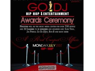 Go DJ Hip Hop Awards Ceremony