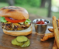 Jacoby's Restaurant and Mercantile burger