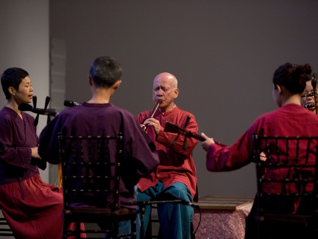 MFAH Emperors Treasures dinner, performers