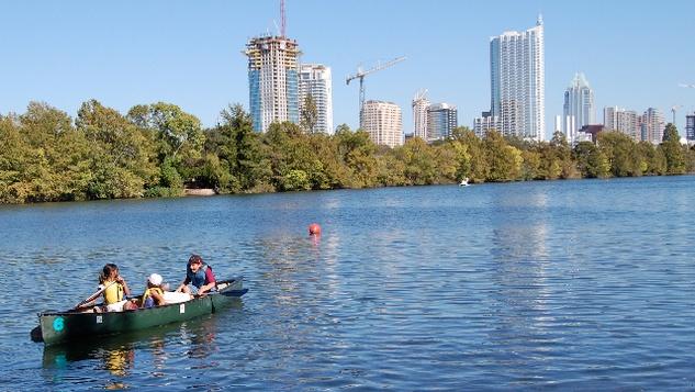 Austin Photo: News_kevin_TPWD_paddle trails_July 2012_lady bird lake