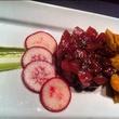 Tuna tartare at Asador restaurant in Dallas