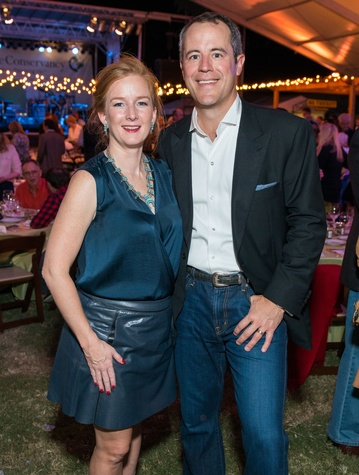 9 Allison and Troy Thacker at the Nature Conservancy 50th anniversary October 2014