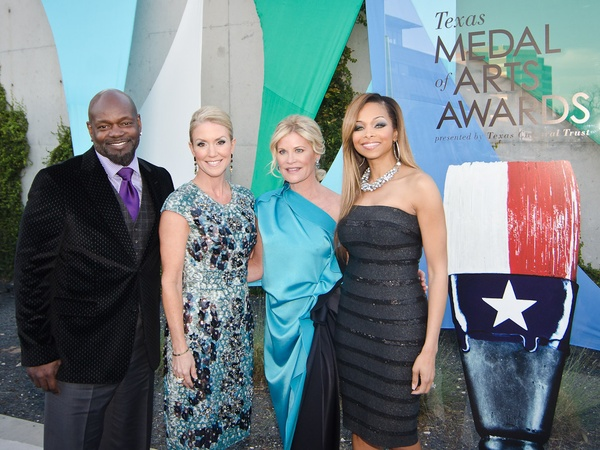 14, Texas Medal of Arts, March 2013, 5762, Emmitt Smith, Marita Fairbanks, Kelli Blanton, Pat Smith