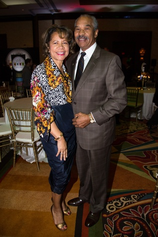 2 Merele Yarborough and Bill Littlejohn at The Social Book 2015 Launch Party January 2015