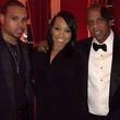 Tina Knowles 60th birthday party in New Orleans January 2014 Musicians Rocko, from left, Monica and Jay Z