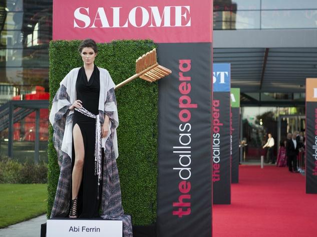 Abi Ferrin, Salome, Dallas Opera First Night