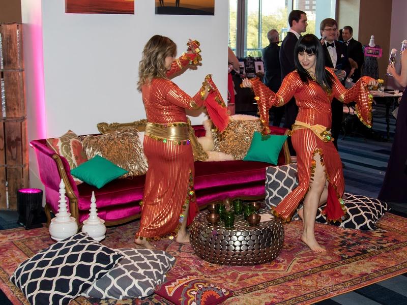 Dancers at Yellow Rose Gala 2017