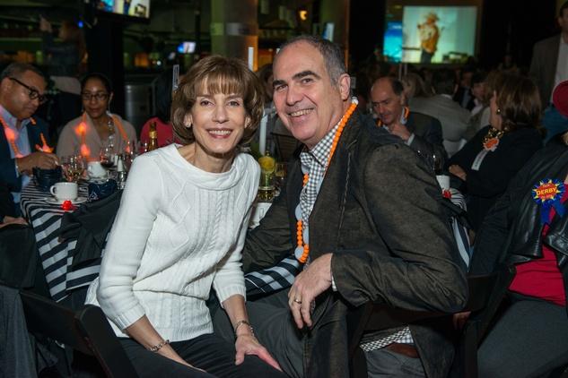 Jenifer and Scott Jarriel at the Friday Night Lights Depelchin benefit November 2014