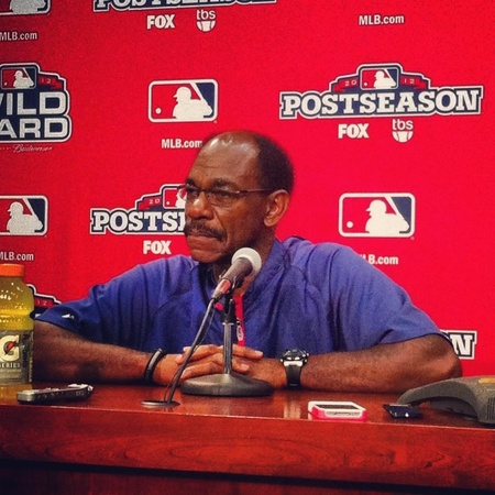 Ron Washington of the Texas Rangers