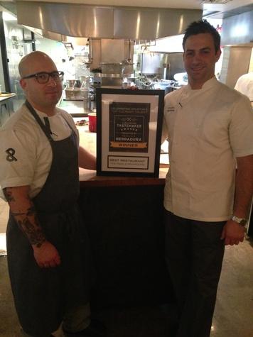 Seth Siegel-Gardner and Terrence Gallivan of The Pass & Provisions Tastemaker Best Restaurant