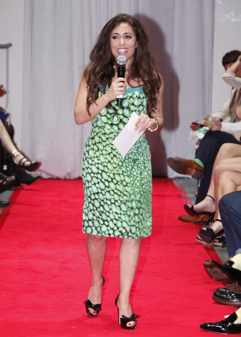 Sonia Azad at Fashion Woodlands with Theresa Roemer March 2015
