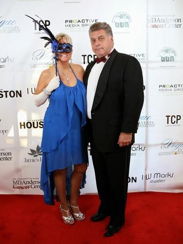 7 Elizabeth and John Ehrman at Hope Masquerade for a Cure Gala November 2013